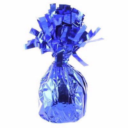 Royal Blue Foil Balloon Weight