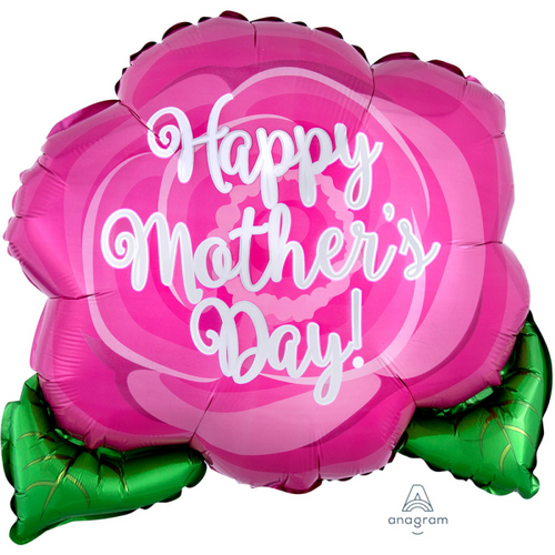 18in Mothers Day Pink Rose Foil