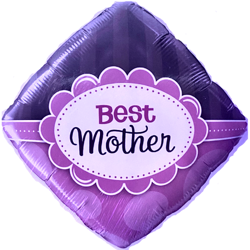 18in Mothers Day Best Mother Foil