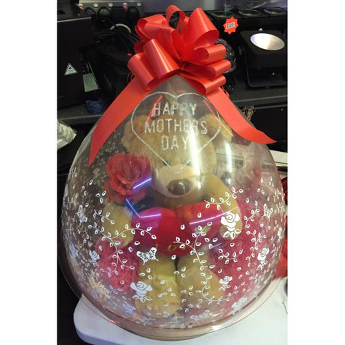 Mothers Day 18in Stuffed Balloon Great for Valentines Day, Mothers Day, Xmas, Birthdays, Anniversary's, Weddings.