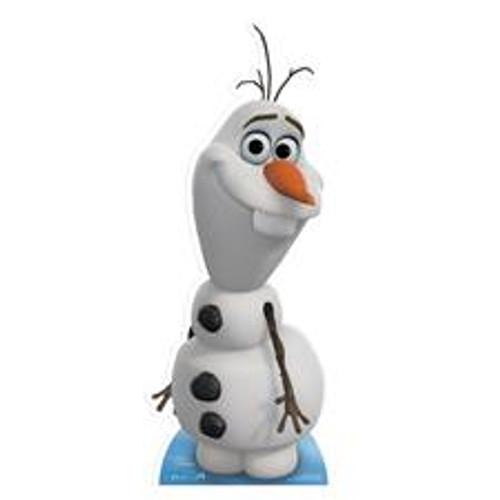 Star Cutouts - Olaf Frozen Hire