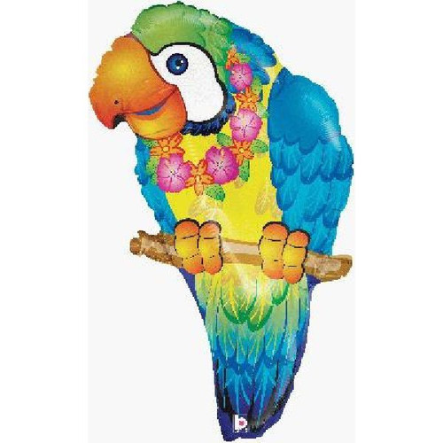 Tropical Parrot 29in Jumbo Foil Balloon