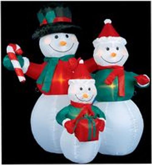 1.2m Snowman Family Hire