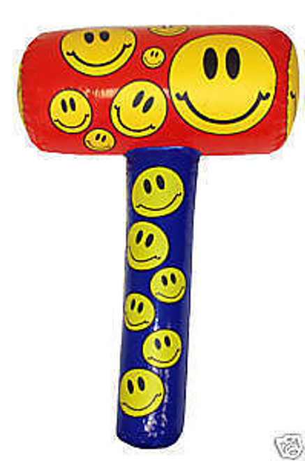 48cm Inflatable Smiley Mallet