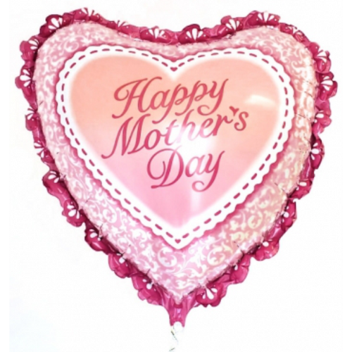 """Mothers Day Heart 36"""" Foil"""