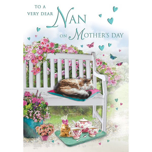 Nan Mothers Day Card
