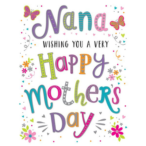 Nana Mothers Day Card