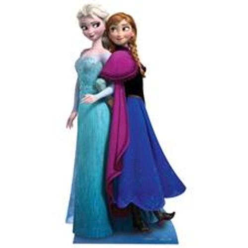 Star Cutouts - Anna & Elsa Frozen