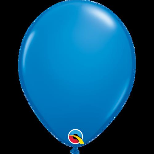 "Qualatex 16"" Standard Dark Blue (Opaque) Balloon"