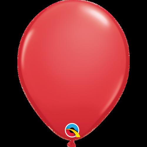 "Qualatex 16"" Standard Red (Opaque) Balloon"