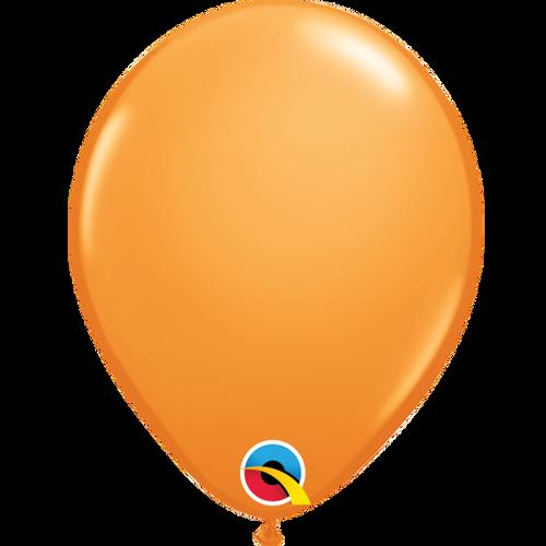 "Qualatex 16"" Standard Orange (Opaque) Balloon"