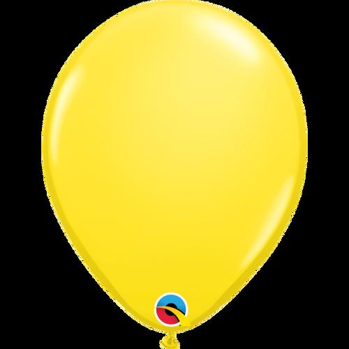 "Qualatex 16"" Standard Yellow (Opaque) Balloon"