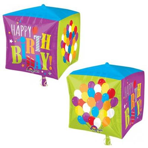 Birthday Balloons Cubez