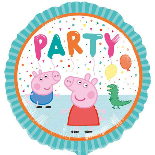 Peppa Pig Party 18in Foil Balloon