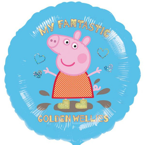 Peppa Pig Playing 18in Foil Balloon