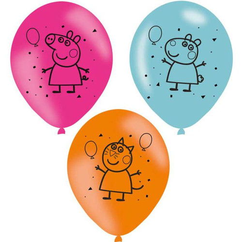 Peppa Pig 11in Latex Balloons
