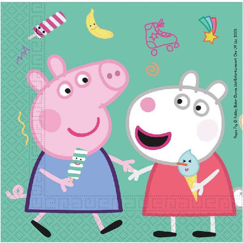 Peppa Pig Large Napkins