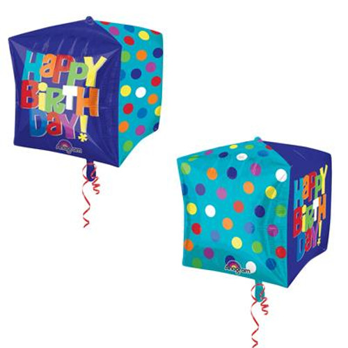 Bright Happy Birthday Cubez