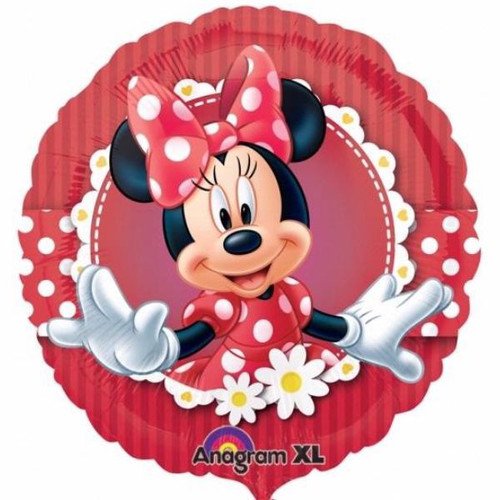 Mad About Minnie 18in Foil Balloon