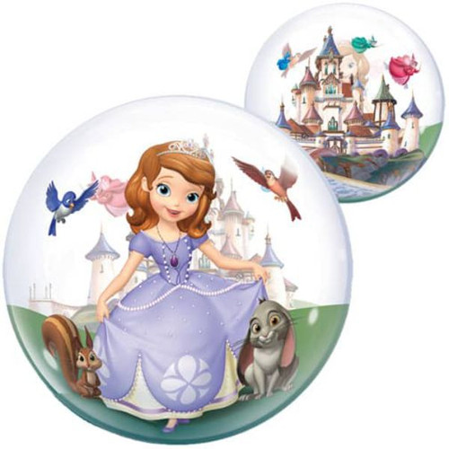 Sofia The First 22in Bubble Balloon