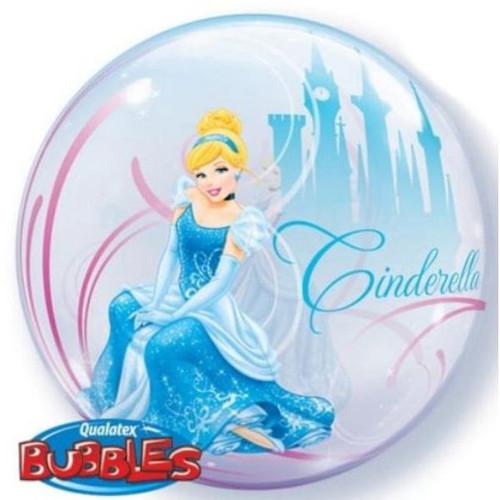 Cinderella 22in Bubble Balloon