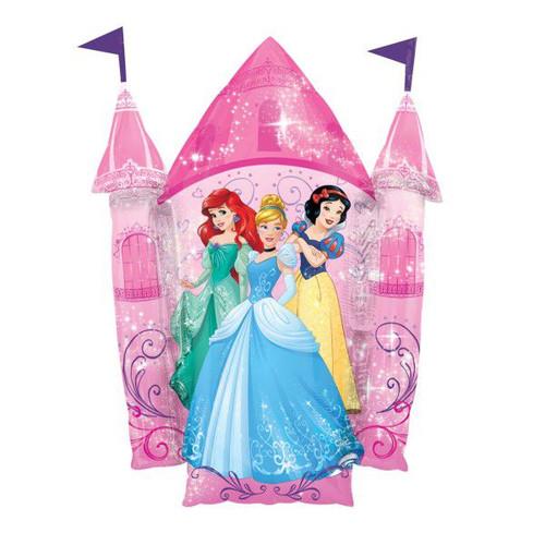 Disney Princess Castle Supershape Foil Balloon