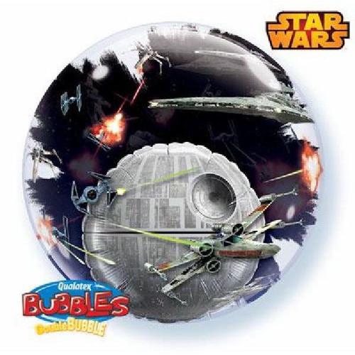 Star Wars Death Star 24in Bubble Balloon