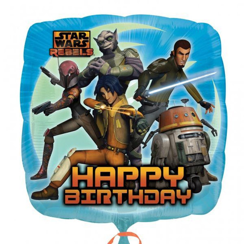 Star Wars Rebels Square 18in Foil Balloon