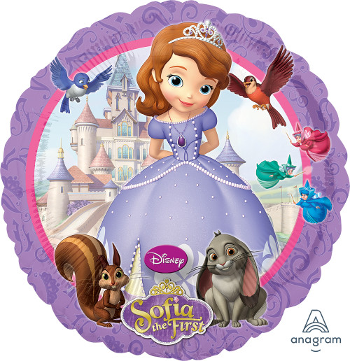 Sofia The First 18in Bubble Balloon