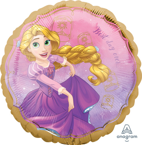 Rapunzel Once Upon A Time 18in Foil Balloon