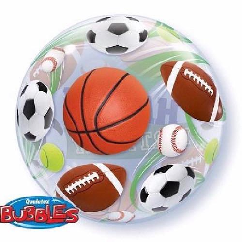 Birthday Sport Balls Bubble Balloon