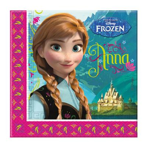 Frozen Lunch Napkins - 20 Pack