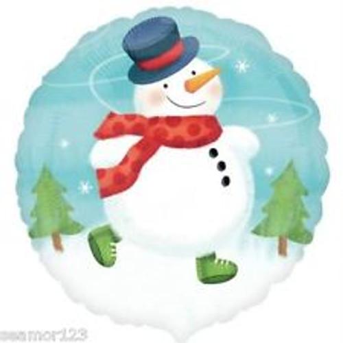Snowman Foil Balloon