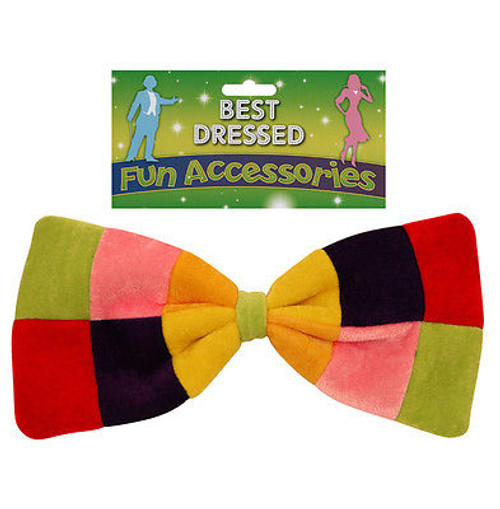 Large Rainbow Bowtie