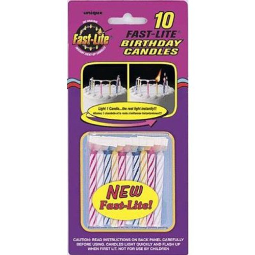 Assorted Fast Lite Candles