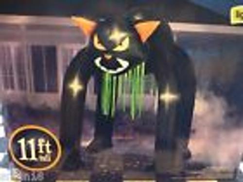 Halloween 11' Scary Black Cat Hire