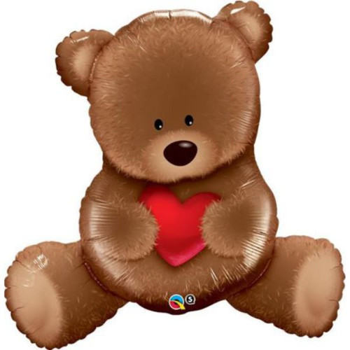 Teddy Bear Love Super Shaped Foil Balloon
