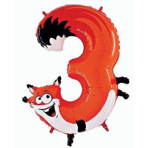 Jumbo Fox Zooloon Number 3
