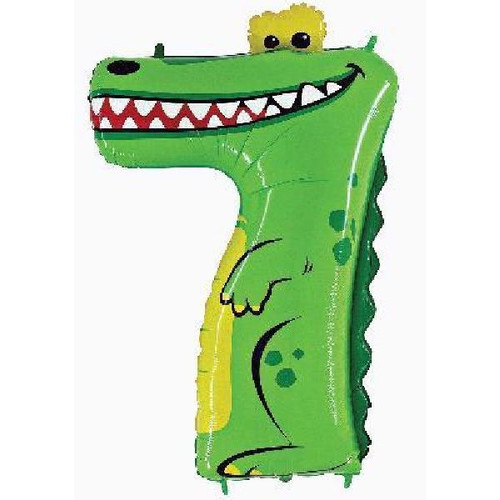 Jumbo Crocodile Zooloon Number 7