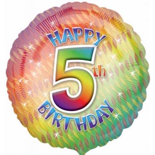 "05th Birthday 18"" Foil Balloon"