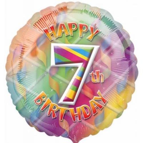 "07th Birthday 18"" Foil Balloon"