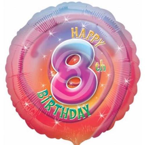 "08th Birthday 18"" Foil Balloon"