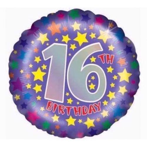"16th Birthday 18"" Foil Balloon"