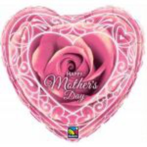 "Mothers Day Rose 36"" Foil"