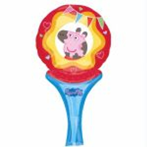 Inflate A Fun Peppa Pig Foil Balloon