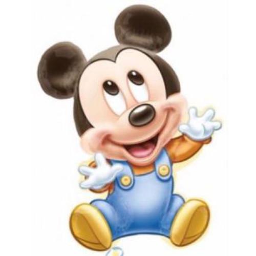 Baby Boy Mickey Supershape Foil Balloon