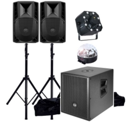 PA & Lighting Package 4 (2500W) Hire
