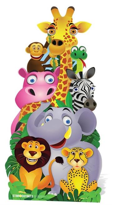 Jungle Friends Cutout Hire