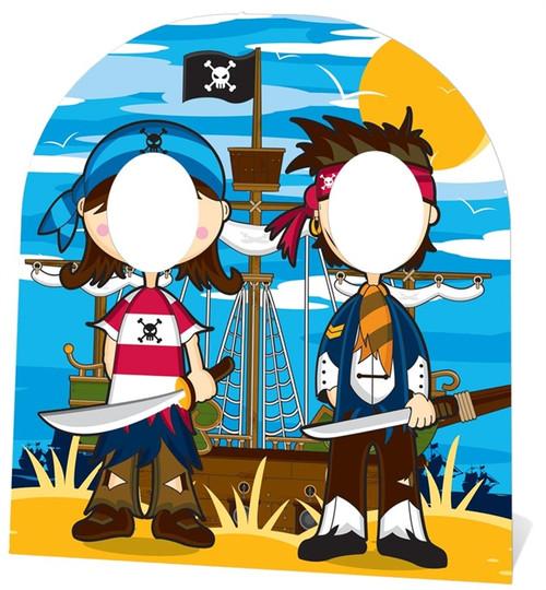 Pirate Friends Photo Prop Hire