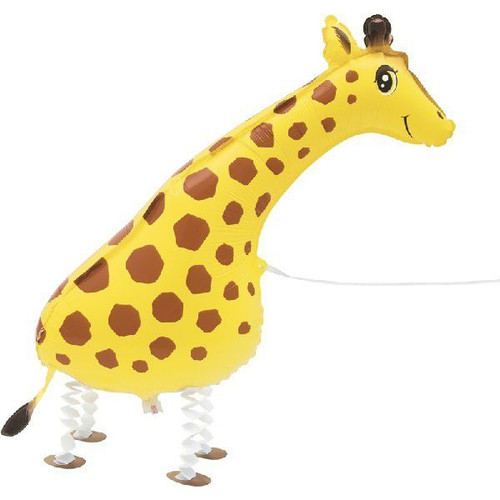 68cm Air Walking Giraffe Balloon